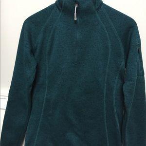 Eddie Bauer jade sweater fleece.